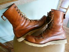 vtg  1960's Red Wing Irish Setter Boots sz. 12AA .  dog tag matches vtg. year.