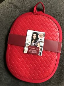 RACHAEL RAY Silicone Pot Holder Red