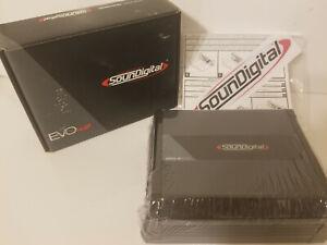 SOUNDIGITAL 800.4 AMPLIFIER 4.0 ULTRA COMPACT 4-CHANNEL 4-OHM  FREE SHIPPING