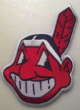 """cleveland indians chief wahoo patch Indians patch 5"""" tall Cleveland Indians"""