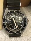Vintage 1976 Benrus Type II Class A MIL-W-50717 Diver Runs Strong Military Watch