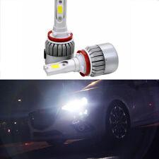 9005+H11 LED Headlights Bulbs Kits Off Road Fog lights HID White Hi/Low Beam