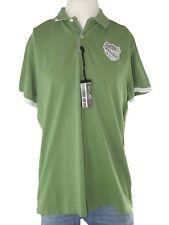marlboro classic maglia polo uomo verde manica corta taglia l / xl extra large