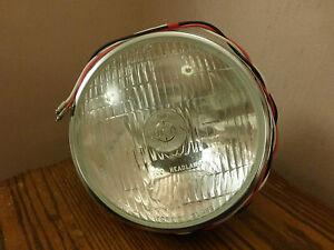 OEM Lucas BPF Headlamp HeadLight & Steel Bucket F700 Austin Healey Sprite Morgan