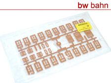 Kibri H0 Bausatz 41001-15 / 4100 Fenster Fensterscheiben verschiedene Arten Neu