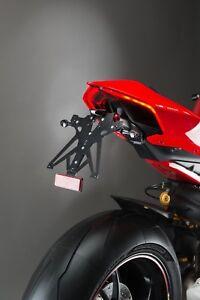 LIGHTECH Immatriculation Réglable Noir+Lumière+Réflecteur Ducati Panigale V2