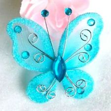Papillons Turquoise Décoration Mariage (lot de 10)