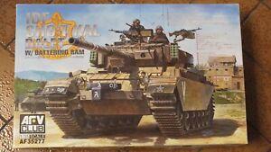 Tank   IDF CENTURION SHO'T KAL DALET AVEC BÉLIER réf: AF35277 AFV Club 1/35