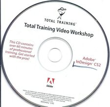 Total Training Adobe InDesign Cs2 60 Minutes of professional Training Cd