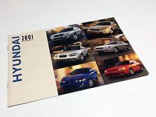 2001 Hyundai Sonata Elantra Tiburon Accent XG300 Santa Fe Brochure