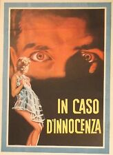 The LAST ONES SHALL BE FIRST 1960 Italian movie poster ~ ULLA JACOBSSON ~ 1957