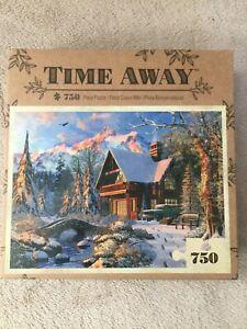 Time Away 750 piece Jigsaw Puzzle #91123, new