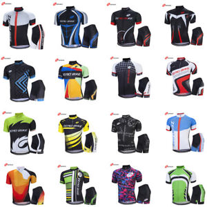 Men's Cycling Clothing Bicycle Jersey Sportswear Short Sleeve Racing Clothing