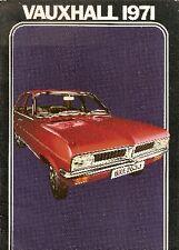 Vauxhall 1970-71 UK Market Brochure Viva Victor VX 4/90 Ventora Cresta Viscount