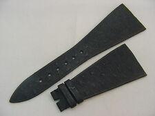30mm NOS Genuine Black Ostrich Watch Strap / Band