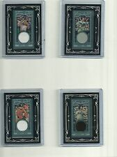 Mike Napoli 2013 Topps Gypsy Queen Mini Black Framed Relic Jersey Rangers
