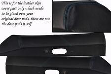blue stitching FITS  MAZDA MX5 MK1 MIATA 89-97 2X DOOR CARD PADS LEATHER COVERS