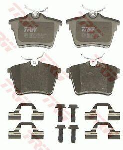 Peugeot 604 GL SL 1976-1981 TRW Rear Disc Brake Pads GDB1596 DB2033