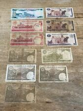 More details for x11 vintage state bank of pakistan rupees notes - 500, 100, 50, 10 & 5