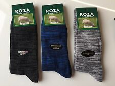 3 Pairs MENS THICK CHUNKY WOOL WORK HIKING BOOT SOCKS WARM SIZE UK  6-11  BPLRFD