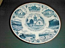 Peru Maine ME Sesquicentennial 1821-1971 Kettlespring Collector Plate (loc-71F)
