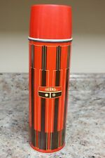 Vintage 1971 Thermos King Seely Red Brown 2410 - 32 Ounces - 13 1/2 inch