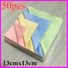 Advanced 50Pc Microfiber Phone Screen Camera Lens Glasses Cleaner Cleaning Cloth