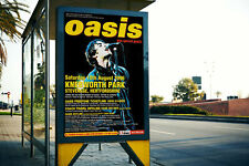 More details for oasis reproduction printed poster kitchen pub bar art cave music band a2 a3 a4