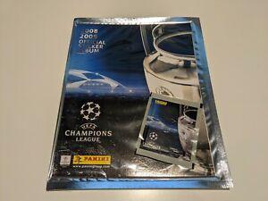 Panini UEFA Champions League 2008/09 Empty Album and Packet