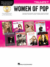 """WOMEN OF POP"" INSTRUMENTAL PLAY-ALONG FOR ""TRUMPET"" MUSIC BOOK/CD-NEW ON SALE!!"