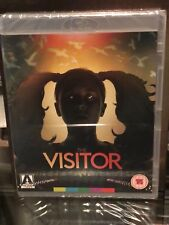 THE VISITOR 2-DISC BLU-RAY/DVD SPECIAL EDITION! ARROW VIDEO! BRAND NEW! REGION B
