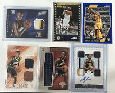 Myles Turner Card Lot (6)!1 Cornerstone Patch Auto,1 Patch RC,1 RC Jersey,+ More