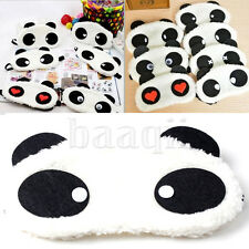 Comfortable Eye Mask Blindfold Panda Face Cover Fits For Adult And Kids DA