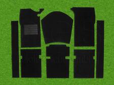 Carpet kit for Peugeot 404 sedan / Limousine black velours