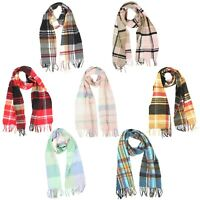 Plaid Scarf with Fringed Ends for Women - Croft & Barrow - 62 inches