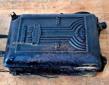 Large Vintage Electric Switch Industrial Steampunk Cast Iron Walsall On Off