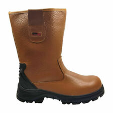 Blackrock Fur Lined Rigger Boots Steel Toe Cap Midsole Safety Work SB-P (SF01)