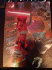 Star Wars Topps 2012 Galaxy Series 7 Etched-Foil #6 Mint