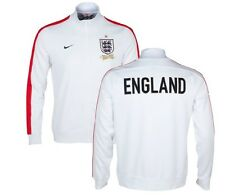 Genuino Nike Men's England N98 Bianco Track Jacket 2013/14, 150th ANNIVERSARIO XL