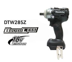 Makita Black DTW285B 18V Cordless Brushless Impact Wrench / Body Only(Bare Tool)