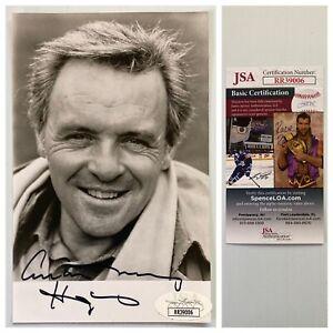 2x Oscar Sir Anthony Hopkins Signed Autograph 3.25 x 5.5 Photo - JSA - FREE S&H!