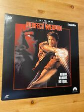 The Perfect Weapon Laserdisc 1991 Paramount  Like New *CAV* RARE