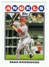 2008 Topps #UH315 Sean Rodriguez,rookie card,Los Angeles Angels,NM-MT