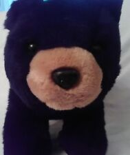 "Black Bear 12"" to top of head, plush toy. F"