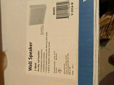 Valcom 1 Watt V-1016-W V1016 Wall Mount Speaker white New In Box Nib