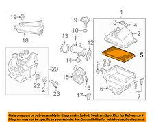 MAZDA OEM 04-13 3 Engine-Air Filter Element LF5013Z409U