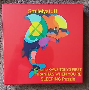 Genuine KAWS TOKYO FIRST PIRANHAS WHEN YOU'RE SLEEPING Puzzle, 1000 Pieces