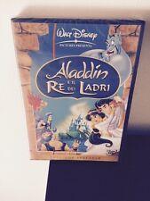 Dvd Disney Aladdin E Il Re Dei Ladri Ed. Spec. Ologr. Sul Dorso Sigillato