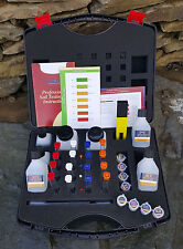 Professional Soil Testing Kit with pH Meter. N.P.K  tests farmers & growers