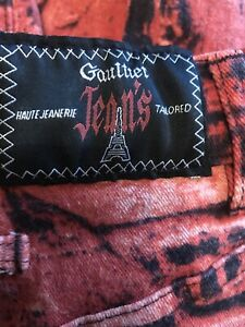 Very Rare 1997 Collection Jean Paul Gaultier Racism Jeans